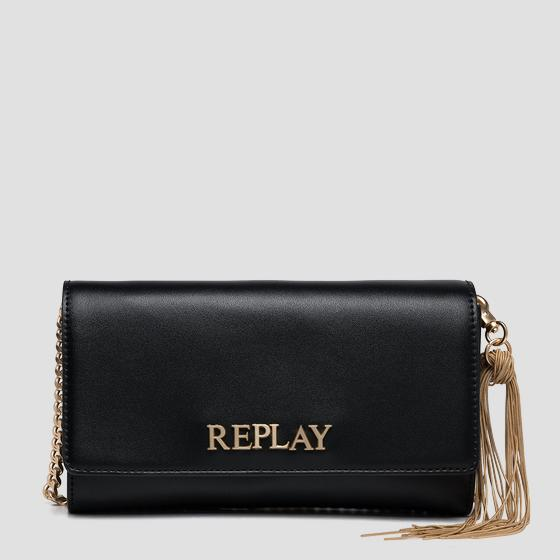 REPLAY purse with shoulder strap fw3216.002.a0157a