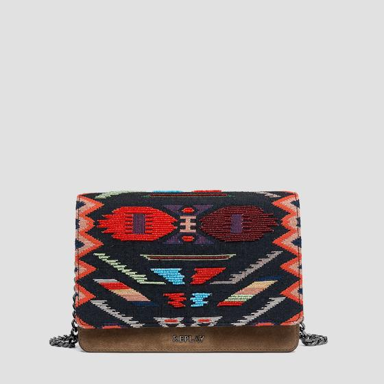 Ethnic style shoulder bag fw3788.004.a3044