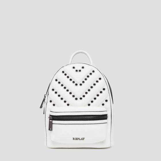 3D effect backpack with metal details fw3821.000.a0132d