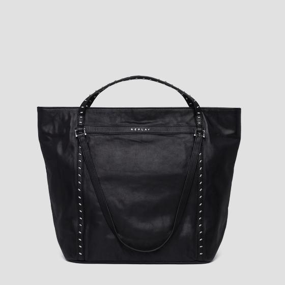 Shopper bag with studs fw3836.001.a3127c