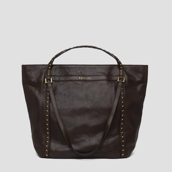 Shopper con borchiette fw3836.001.a3127c
