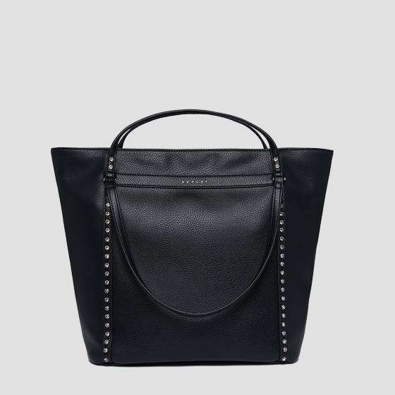 Shopper in ecopelle martellata fw3836.006.a0132d