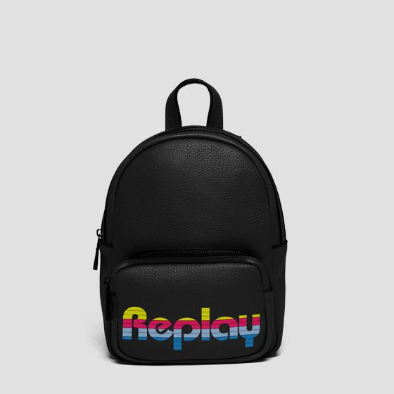 Backpack with contrasting logo fw3849.000.a0132d
