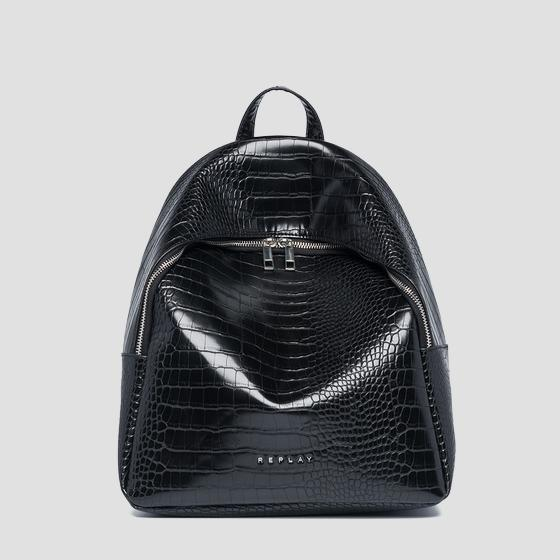 Soft backpack with zipper fw3891.000.a0292d