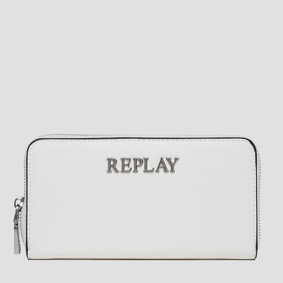 REPLAY solid-coloured wallet fw5255.003.a0283