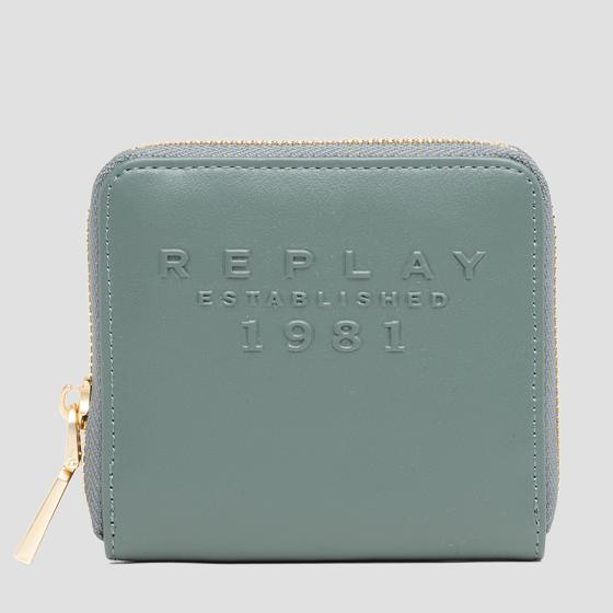 REPLAY ESTABLISHED 1981 wallet with zipper fw5281.001.a0365b