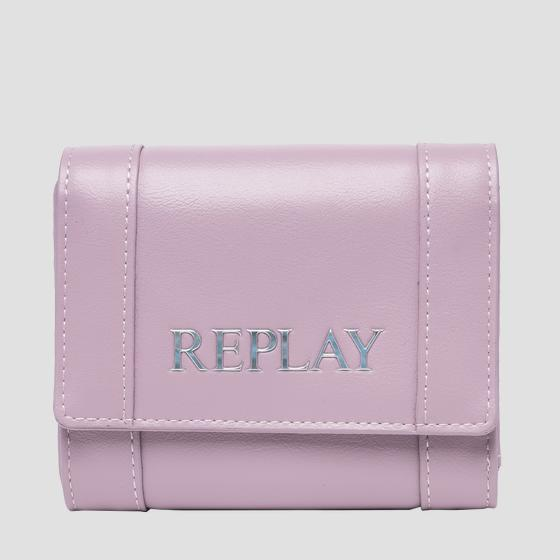 Solid-coloured REPLAY wallet fw5282.000.a0365b