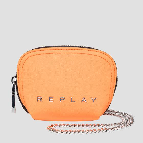 REPLAY coin pouch with shoulder strap fw5284.000.a0445
