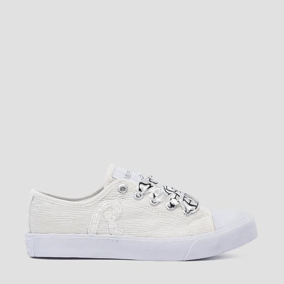 Girls' SAMOA LOW lace up sneakers gbv08 .000.c0108t