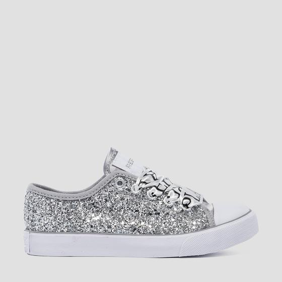 Girls' COOK lace up sneakers gbv08 .000.c0110s