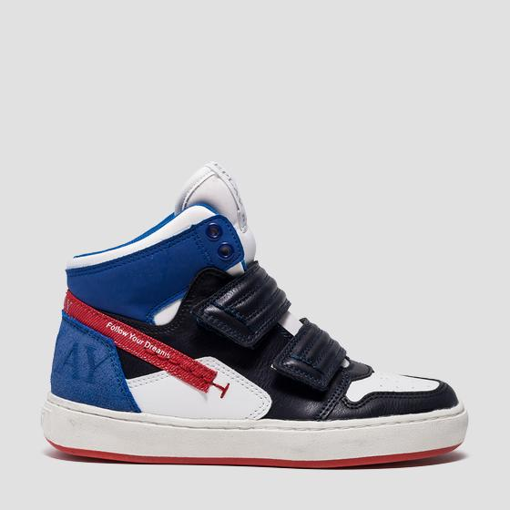 Boys' EICHI mid cut sneakers gbz19 .000.c0017s