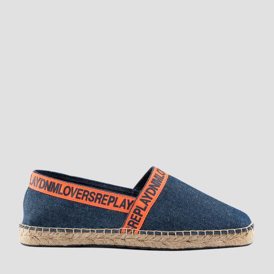 Men's VELASCO slip on denim espadrilles gmf16 .000.c0046t