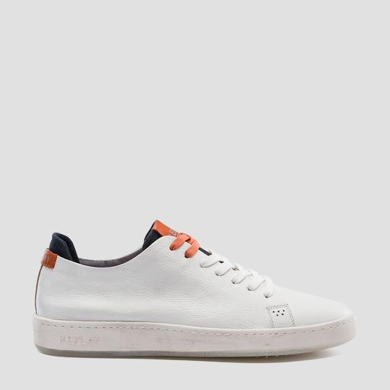 Men's WHARM lace up leather sneakers gmz52 .000.c0004l