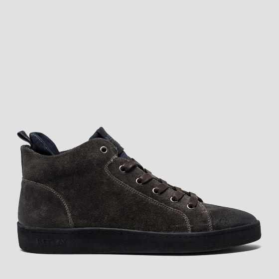 Men's WESTPORT lace up suede mid cut sneakers gmz52 .000.c0017l