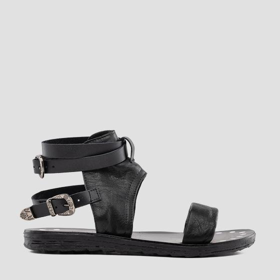 Women's LINDSAY leather sandals gwf1r .000.c0003l