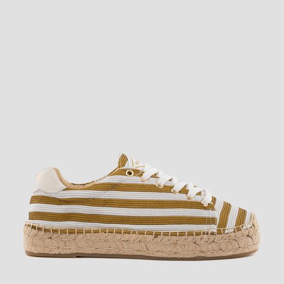 Women's PLAYAS lace up espadrilles gwf22 .000.c0063t