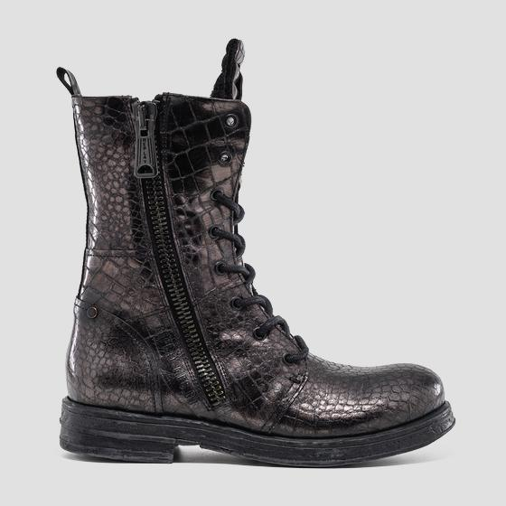 Women's WINSTED lace up leather boots gwl26 .000.c0097l