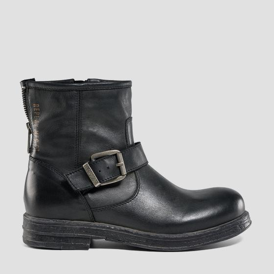 Women's MAPLEWOOD leather ankle boots gwl26 .000.c0098l