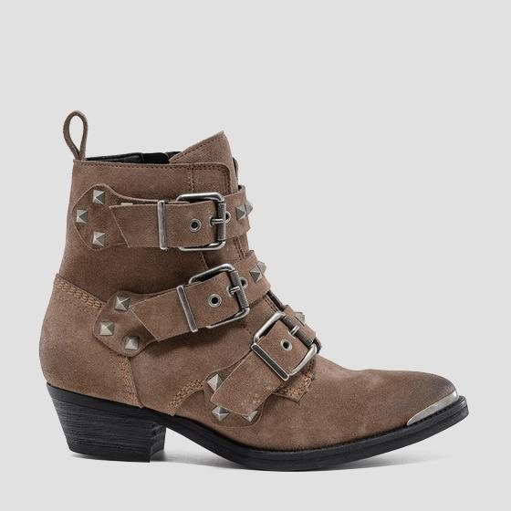 Women's WILLERBY leather ankle boots gwn63 .000.c0018l