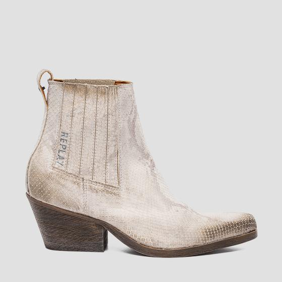 Women's SYDNEY leather chelsea boots gwn64 .000.c0013l