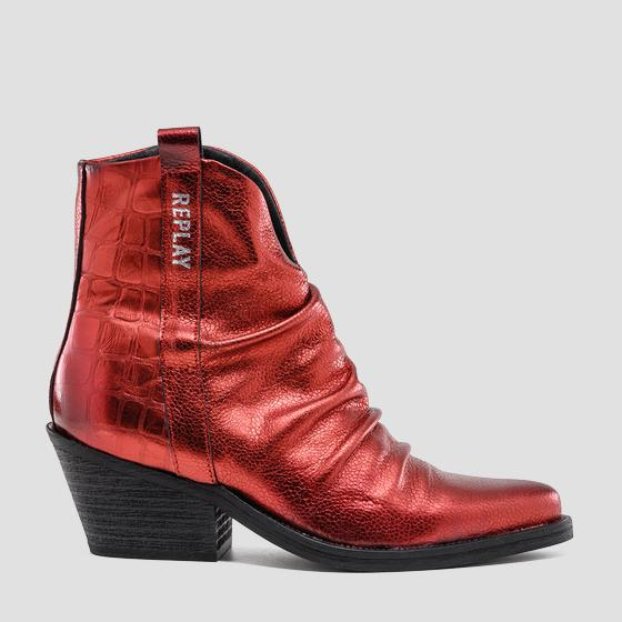 Women's HAREBY leather ankle boots gwn64 .000.c0021l