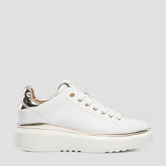 Women's BIRCH lace up leather sneakers gws3c .000.c0001l