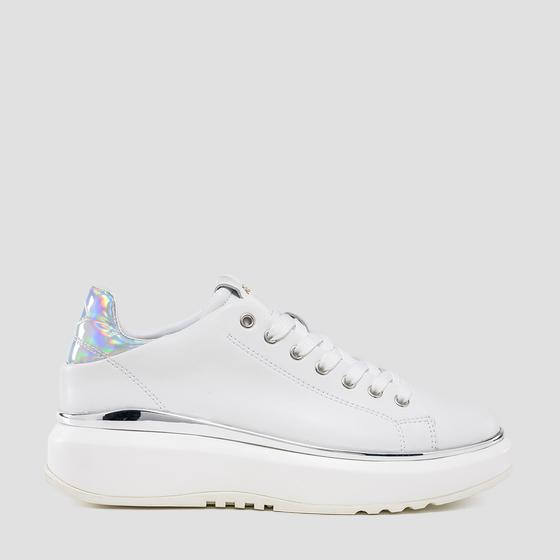 Women's ANNAPOSE lace up leather sneakers gws3c .000.c0022l