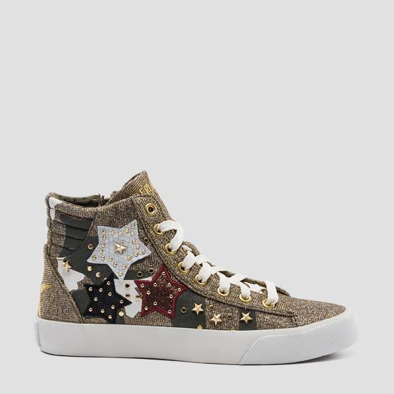 Women's DORAL mid cut sneakers gwv79 .000.c0013t