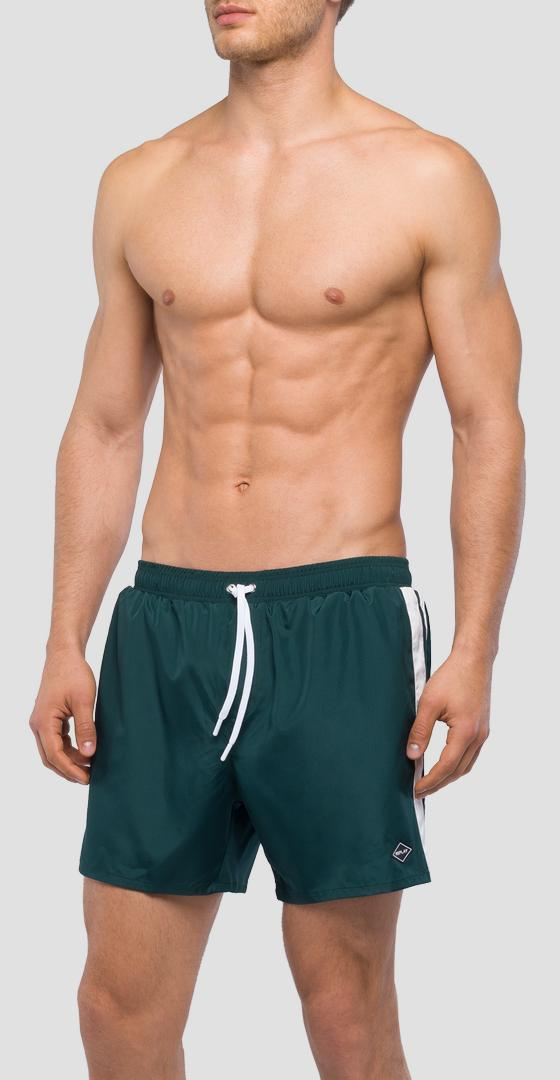 Swim shorts with side bands lm1047.000.82972