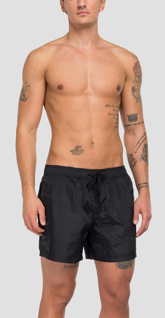 Solid-coloured REPLAY swimming trunks lm1076.000.83218