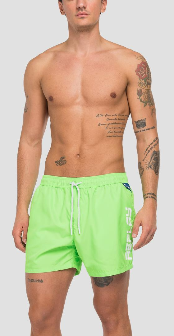 REPLAY swimming trunks in recycled nylon lm1078.000.82972r