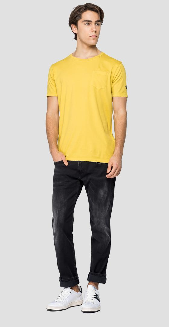 REPLAY cotton t-shirt with pocket m3052 .000.22810g