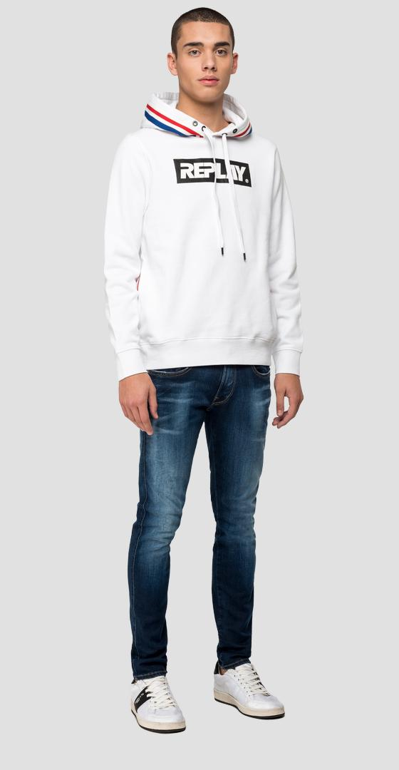 REPLAY-Sweatshirt mit Kapuze m3083 .000.21842