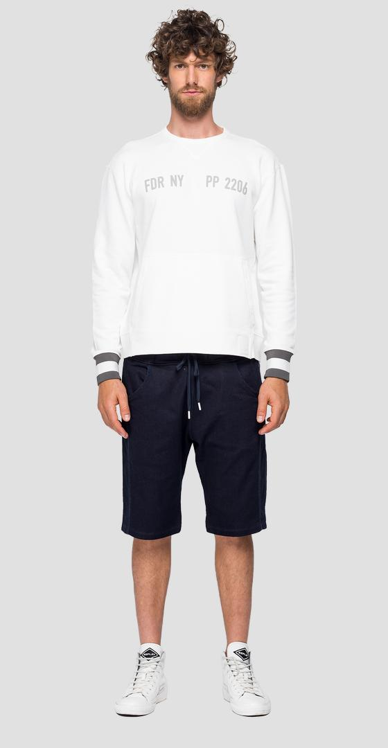 REPLAY SPORTLAB crewneck sweatshirt m3122 .000.s22906g