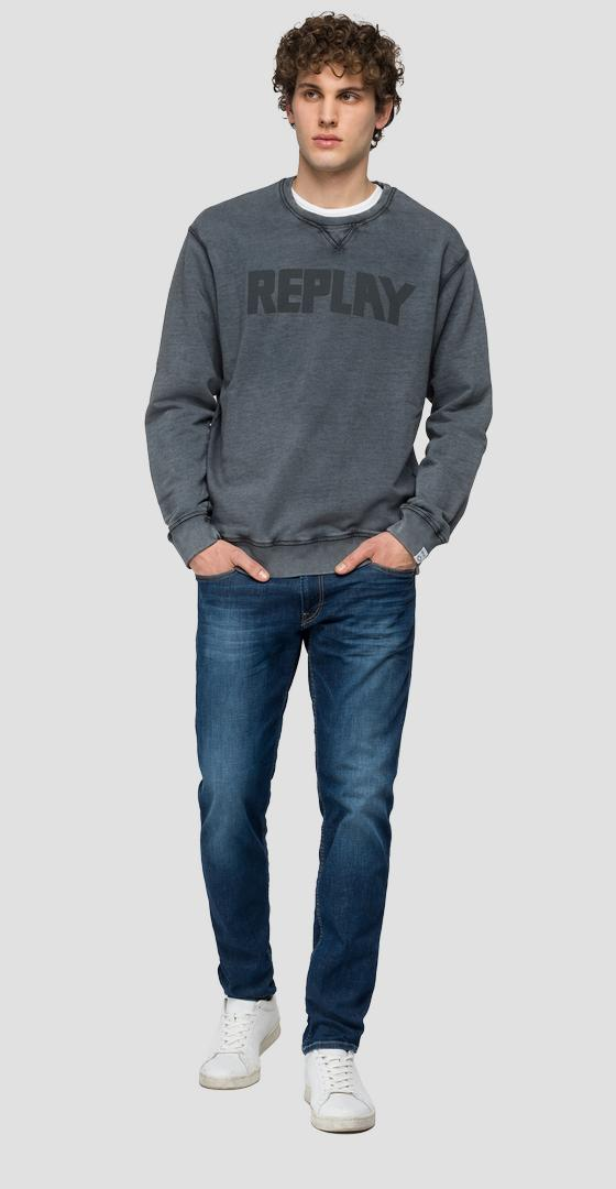 Essential crewneck sweatshirt in cotton m3329 .000.23158g