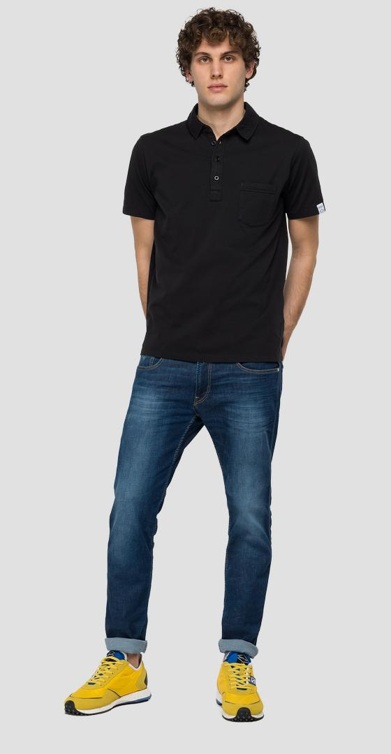 Essential polo shirt in jersey m3353 .000.23100g