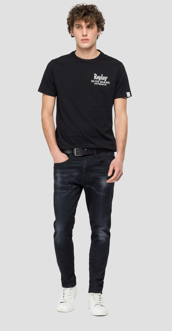 REPLAY BLUE JEANS organic cotton t-shirt m3392 .000.23046p