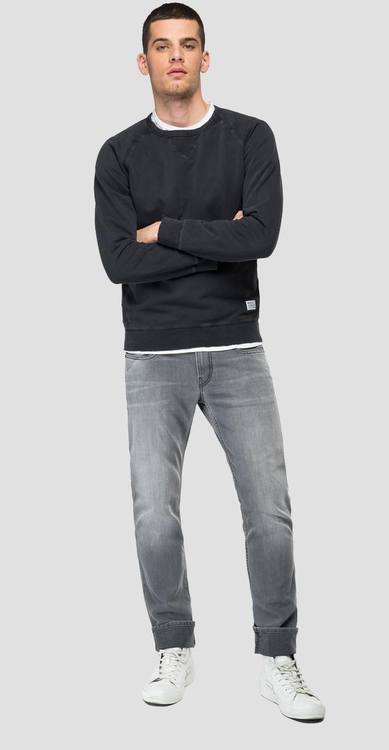 REPLAY-Sweatshirt aus reiner Baumwolle Essential m3438 .000.22890g