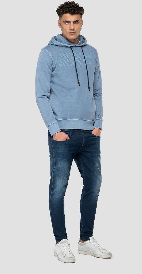 REPLAY hoodie with pockets m3524 .000.23190a
