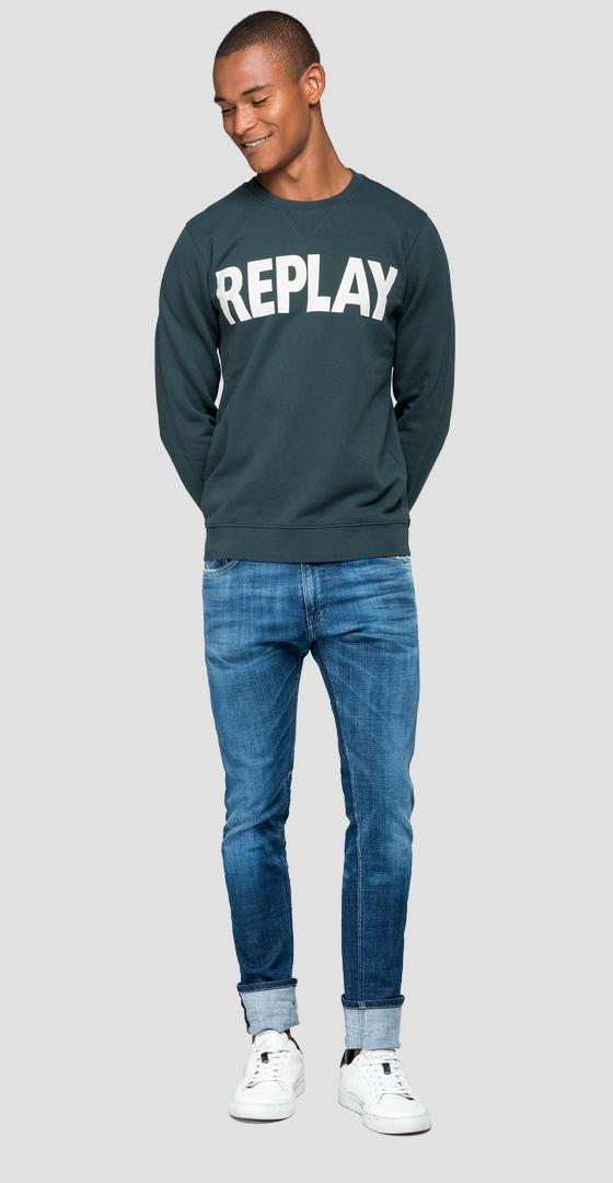 Sweatshirt mit REPLAY-Logo m3666 .000.21842
