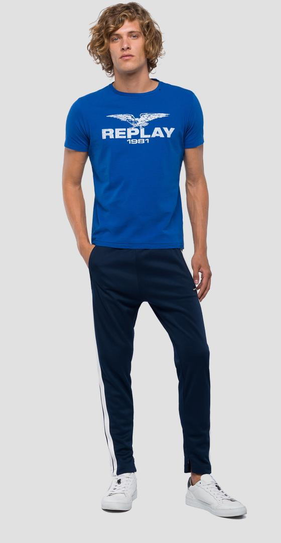 T-shirt REPLAY 1981 eagle m3768 .000.22662