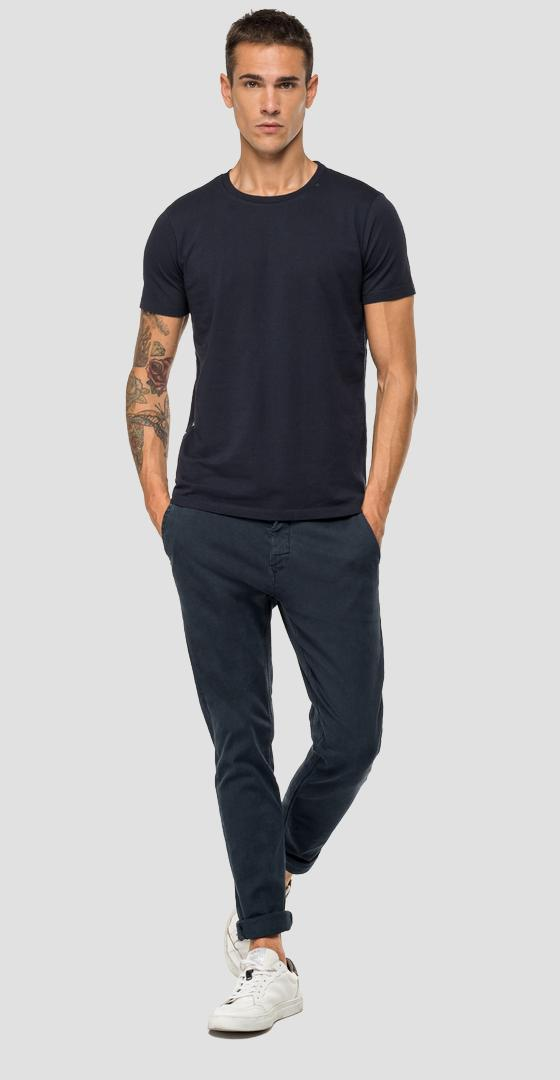 T-shirt with side stripe m3870 .000.22432