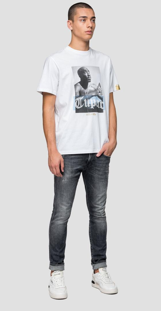 Replay Tribute Tupac Limited Edition t-shirt m3946h.000.22628a