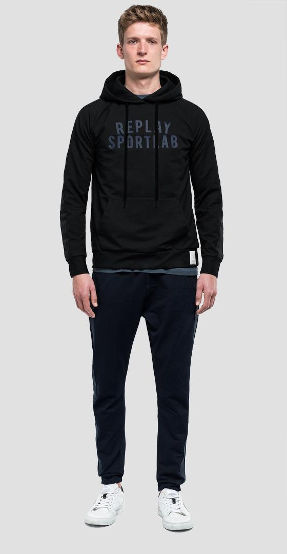 Sweat en denim à capuche sportlab m3960 .000.s229409