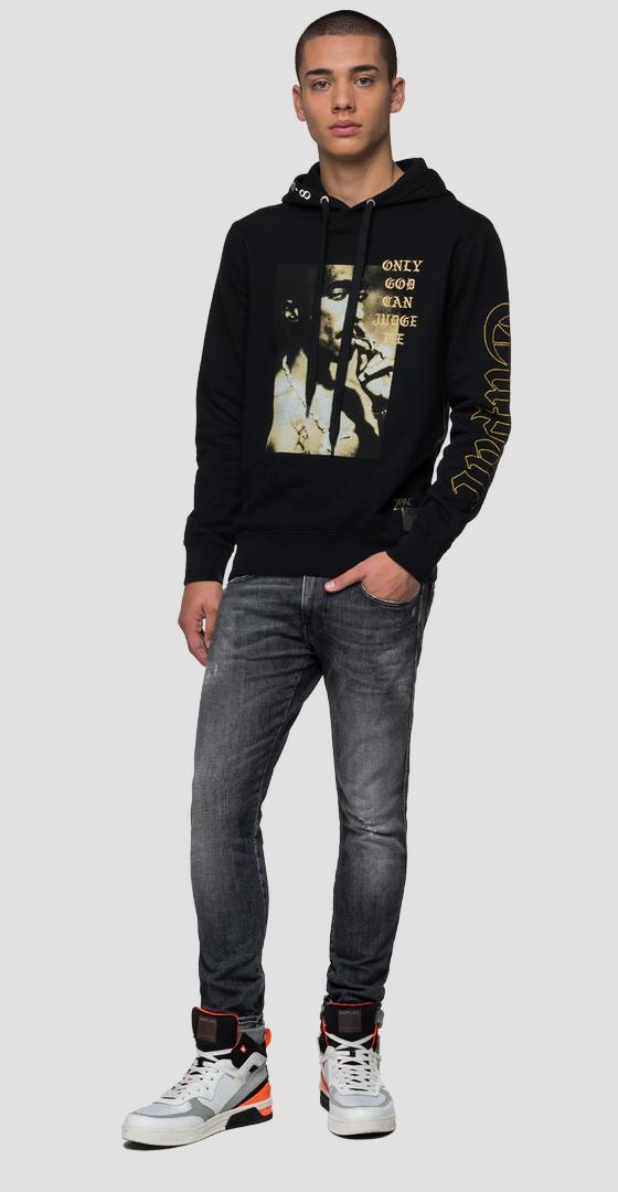Replay Tribute Tupac Limited Edition sweatshirt m3989b.000.21842