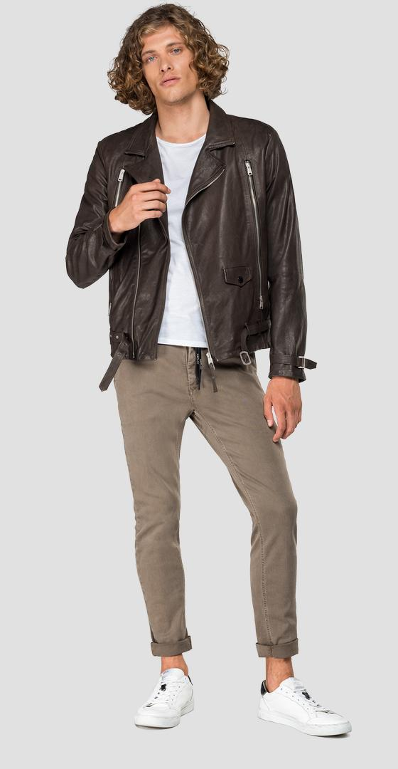 Biker leather jacket m8030 .000.83060