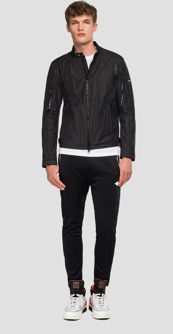 Replay biker jacket with pockets m8049 .000.83574