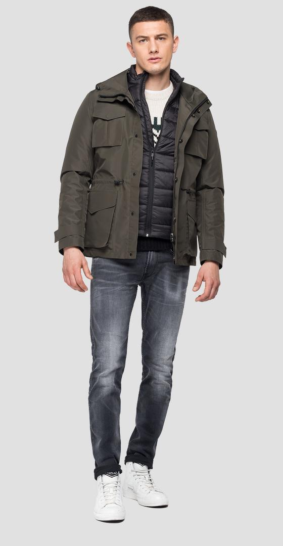 Jacket with inner padding m8097 .000.83820