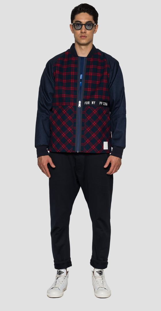 SPORTLAB jacket in checked fabric m8122 .000.s83930