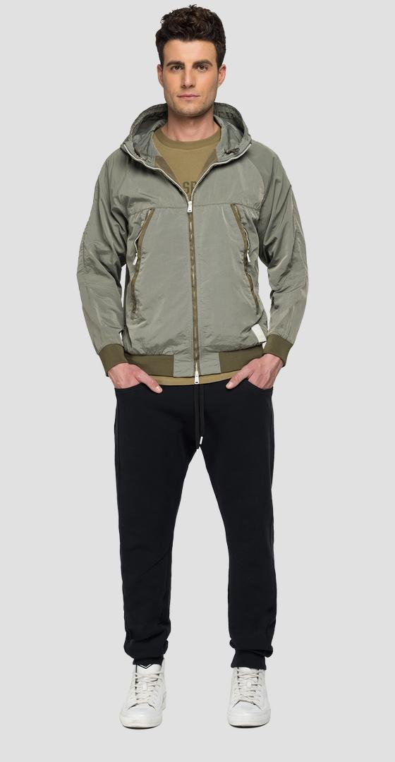 REPLAY SPORTLAB jacket with hood m8163 .000.s84144
